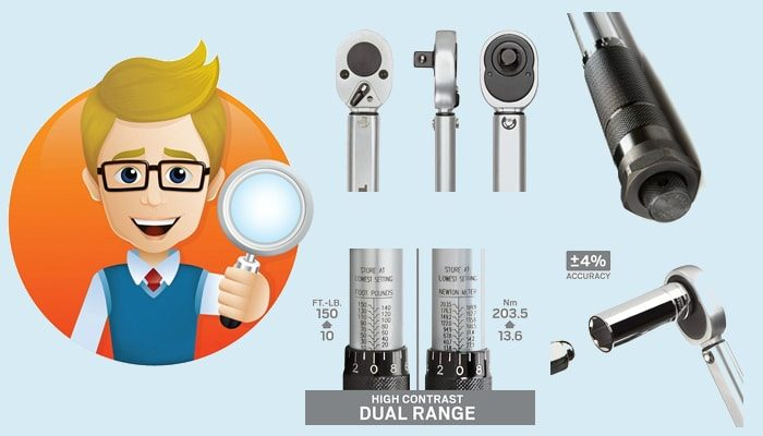 Key features to consider when buying a torque wrench