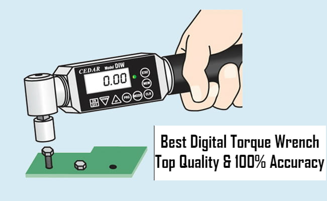 5 Best Digital Torque Wrench Reviews [2019 Expert's Analysis]