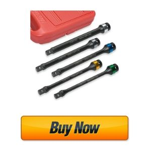 "Neiko 02450A 1/2"" Drive Torque Limiting Extension Bar Set"