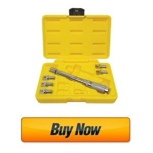 Excel (TWS-210ANS 7-Piece Adjustable Spoke Torque Wrench Set