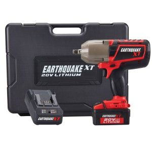 Earthquake Cordless Impact Wrench Review (XT 20V)
