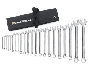 GearWrench 81916 22 Piece Metric Combination Wrench Set