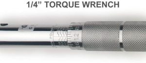 J&R Quality Tools 1/4-Inch Adjustable Torque Wrench