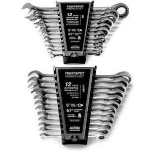 Jaeger 24pc IN MM TIGHTSPOT Ratchet Wrench MASTER SET