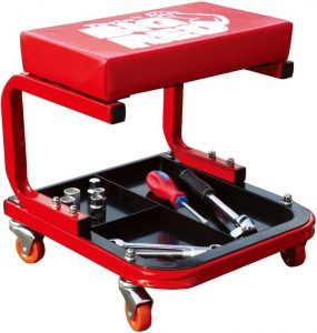 Torin TR6300 Red Rolling Creeper Garage Shop Seat