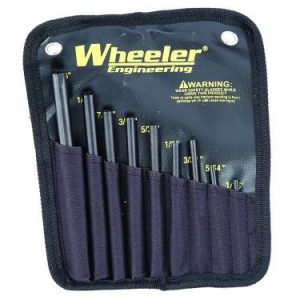 Wheeler Engineering Roll Pin Starter Punch Set