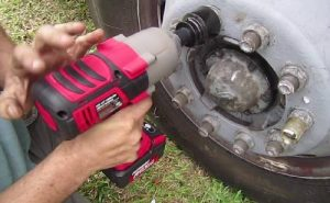 earthquake cordless impact wrench