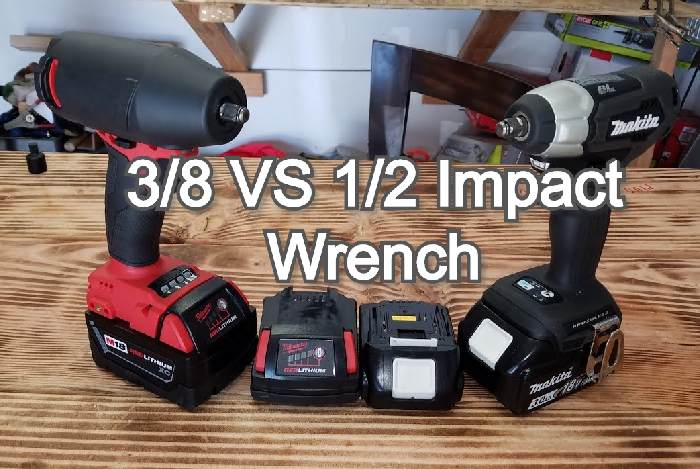 3/8 VS 1/2 Impact Wrench | Which One Is The Best?
