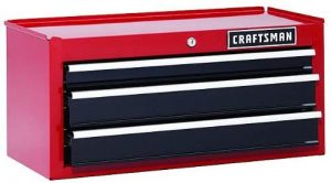 Craftsman 26 In. 3-drawer Chest Heavy-duty Ball Bearing Middle Chest