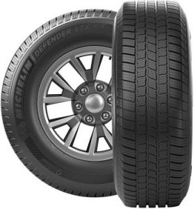 Michelin Defender LTX M/S All-Season Radial Towing Tire-275/55R20 113T
