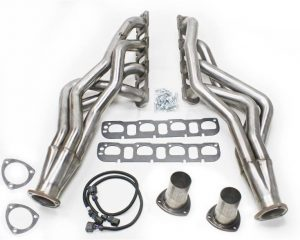 """JBA (6961S) 1-7/8"""" Stainless Steel 4 into 1 Primary Long Tube Exhaust Header for Dodge RAM 1500/2500/3500 2/4 WD 5.7L Truck"""